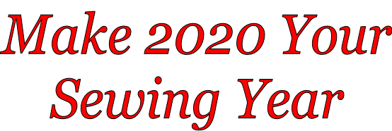 Make 2020 Your Sewing Year