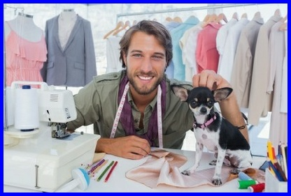 The Sewing Guru also offers a full sewing course on how to make clothes for your pet dog #learntosew #howtosew.