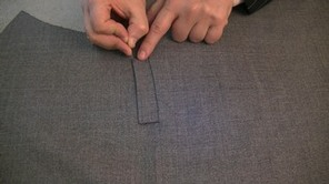 HOW TO SEW A WELT POCKET #learntosew #learntosewonline.