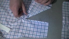 HOW TO SEW A PLACKET ON A SHIRT #learntosew #learntosewonline.